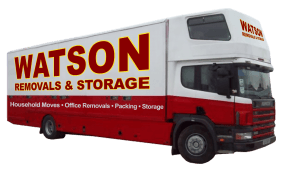 Watson Removals Company Truck Oxford Left